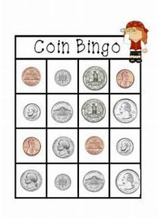 money bingo worksheets 2076 coin bingo nickel dime quarter bingo coins money for