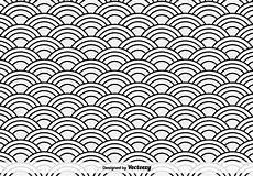 sea vector pattern free vectors