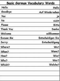 german vocab worksheets 19738 languages it all page 2