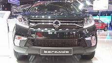 ssangyong korando sapphire ssangyong korando sapphire 6at awd 2 2 diesel e xdi 2017 exterior and interior in 3d