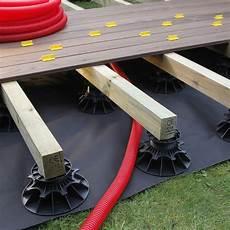 Plot Pour Terrasse Nivo H140 230mm Plot Pour Lambourdes