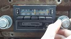 Vintage Philco Ford Am Fm Stereo Mpx In Dash Cassette
