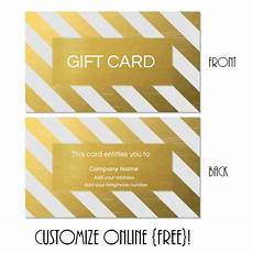 downloadable gift card templates gift card template