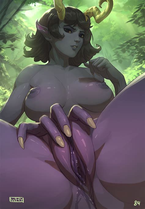 Female Devil Nude
