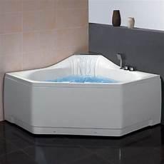 eckbadewanne eago design whirlpool am168jdtsz 150x150cm