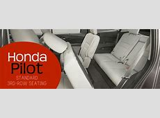 Does the Honda Pilot have a third row?