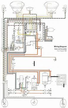 1961 beetle wiring diagram thegoldenbug com bug stuff vw beetles volkswagen e beetle