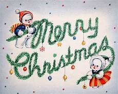 printable kitschy vintage christmas card from the 1940s vintage fangirl