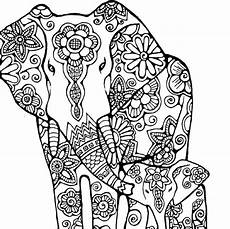 indian elephant coloring page coloring home