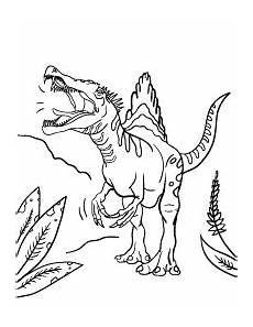 Malvorlagen Dinosaurier Spinosaurus Spinosaurus Coloring Page Mit Bildern Ausmalen