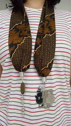 jual kalung syal batik wayang handmade 1 di lapak toko apa aja tokoapaajaonline