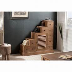 commodes meubles et rangements meuble escalier 7 tiroirs