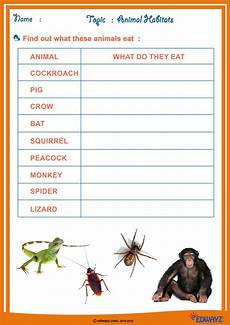 evs worksheets on animals for grade 1 14252 evs worksheet class 2 printable worksheets and activities for teachers parents tutors and