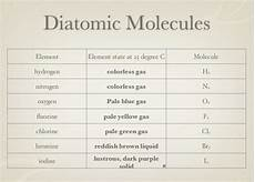 diatomic molecules chemistry ch 4