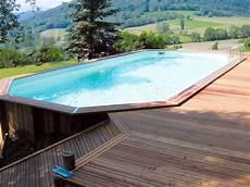 couloir de nage hors sol bois 10 piscines hors sol rapides 224 installer