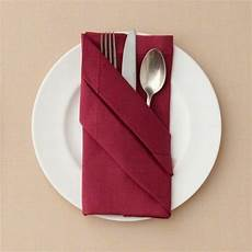 napkin folding cutlery pocket tinker napkin