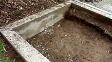 Gewächshaus Fundament Bauen - aufbau gew 228 chshaus teil 1 fundament