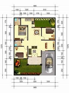Denah Rumah Minimalis Home Sweet Home