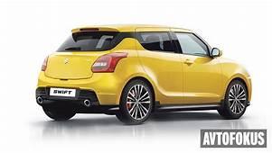 Upcoming 2017 Maruti Suzuki Swift Digitally Rendered