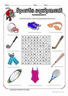 37 free esl equipment worksheets
