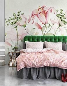 flower wallpaper bedroom fresh flowers wallpaper watercolor dill blossoms wall