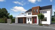 fremde garage auf eigenem einfamilienhaus bauen mit streif family sd 2503 k 246 ln