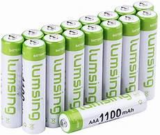 batterien aaa test lumsing 16 st 252 ck aaa akku 1100mah batterie test 2020