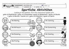 free german worksheets ks3 19670 german ks2 level 3 ks3 year 7 free time sport activities teaching resources