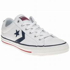converse player ox trainers ebay