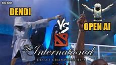 Dendi Vs Open Ai International 7 Dota 2