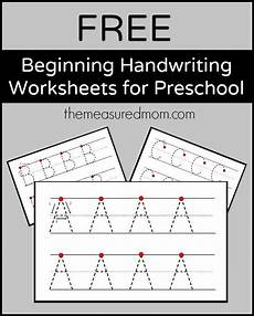 handwriting alphabet worksheets printable free 21301 free beginning handwriting worksheets for preschool teaching handwriting preschool