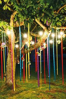 guirlande lumineuse pour jardin diy decoration de jardin a faire soi meme bandeaux