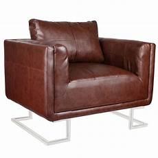 fauteuil en cuir luxueux fauteuil cube en cuir sofa en cuir fauteuil de