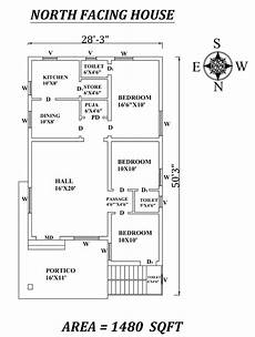 vastu plans for north facing house 28 x50 marvelous 3bhk north facing house plan as per