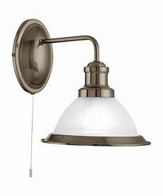 antique brass wall light with pull cord searchlight bistro industrial wall light antique brass pull cord