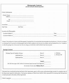 photography receipt templates 6 free word pdf format