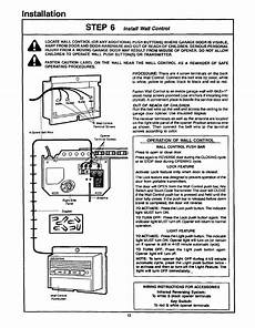 installation craftsman 1 2hp garage door opener 139 53515sr user manual page 13 24
