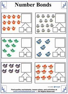 2nd grade math worksheet number bonds number bonds worksheets