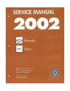 online car repair manuals free 2002 chevrolet suburban 1500 head up display 2002 chevrolet gmc silverado sierra sierra denali suburban blazer factory service manual