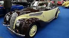 1938 bmw 327 cabrio exterior and interior classic expo