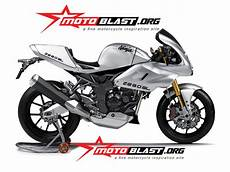 Z250sl Modif by Modif Kawasaki Z250sl Ala Cafe Racer Classic Retro