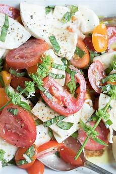 tomate mozzarella dressing tomato basil mozzarella salad summer fall balsamic