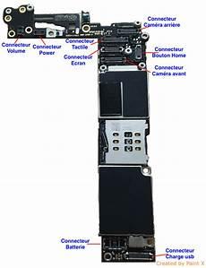 carte mere iphone 6 r 233 paration soudure connecteur 233 cran tactile sur carte m 232 re