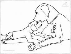 Ausmalbilder Hunde Welpen Hunde Bilder Zum Ausmalen