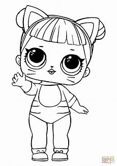 Malvorlagen Mc Unicorn Lol Doll Baby Cat Coloring Page Free Printable Coloring