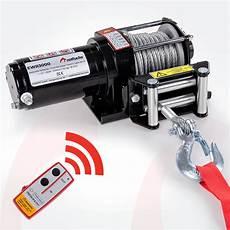 elektrische seilwinde 12v rotfuchs 174 elektrische seilwinde 13000lbs 5909kg 12v