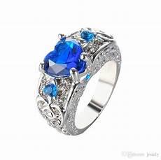 2019 sapphire rings blue diamond ring engagement rings heart shaped garnet wings arrow s