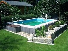 pool umrandung selber bauen 101 bilder pool im garten poolumrandung rund stein