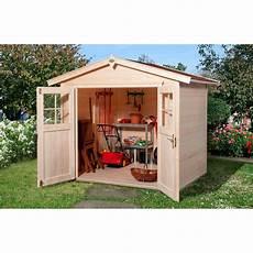 Obi Holz Gartenhaus Monza B Natur Bxt 205 Cm X 209 Cm