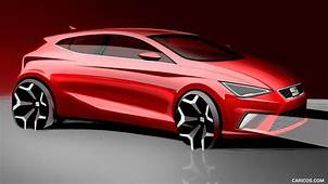 2018 SEAT Ibiza Wallpaper  Car Design Sketch Automotive